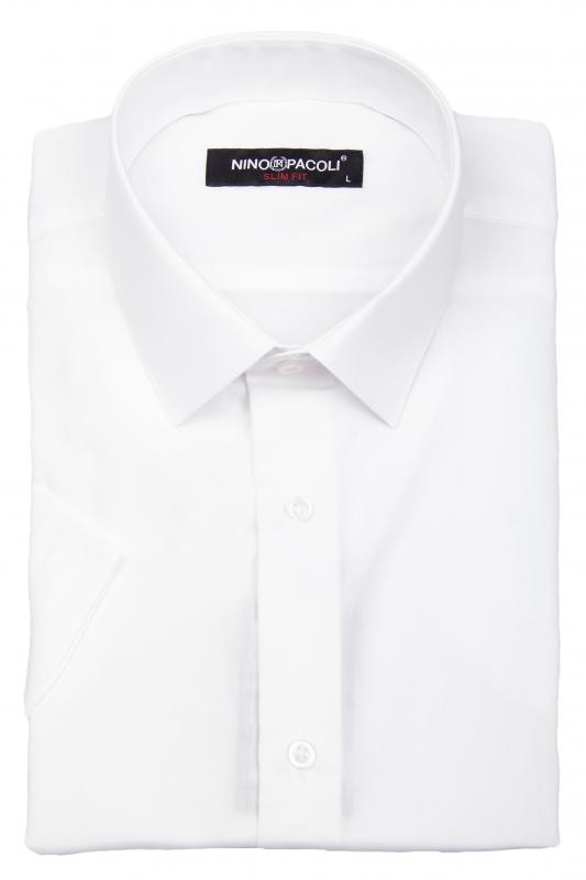 Фото товара Рубашка c коротким рукавом белая Giovanni Fratelli e8809789350c6