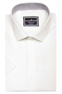 e19d7b4608c693d Фото Рубашка с коротким рукавом айвори GIOVANNI FRATELLI артикул: 1428  Приталенные