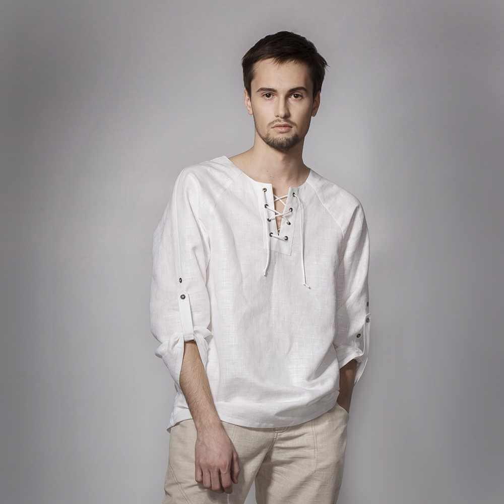 428f2c4c7a3a4f9 Стильная льняная рубашка для настоящих мужчин! | Новости Классик