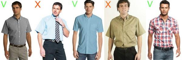 648e74b45a5 Рубашки с коротким рукавом  как носить