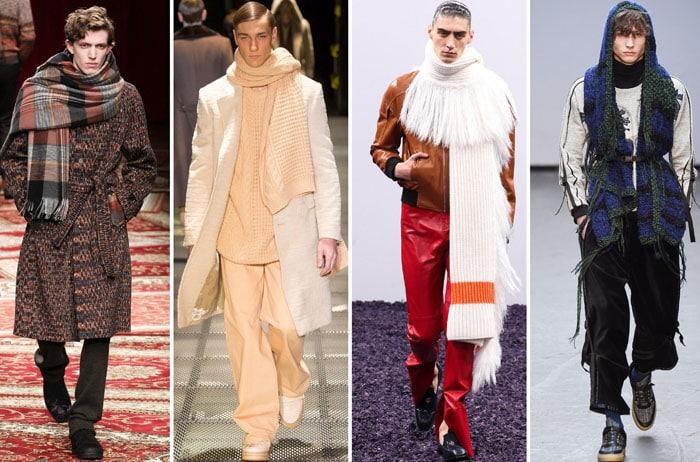 af9fb8d226c И ещё один вариант модного мужского шарфа - палантин. Это решение больше  для весны-осени