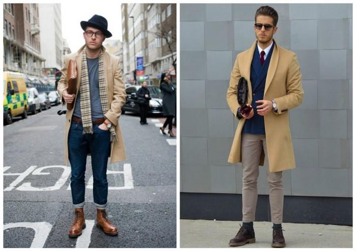 15b3e163352 Двубортные мужские пальто - классика всегда в моде